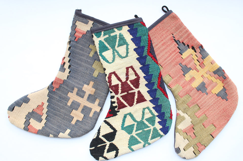 Kilim Christmas Stocking