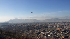 View over Kabul from Wazir Akbar Khan