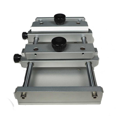 Vice for engraving and cutting slabs