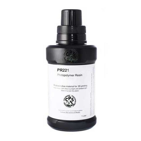 PR221 resin for DLP 3D printer