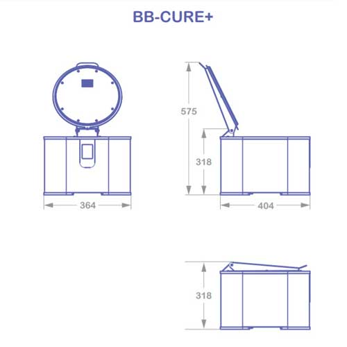 BB CURE PLUS - UV polymerizer for 3D printing