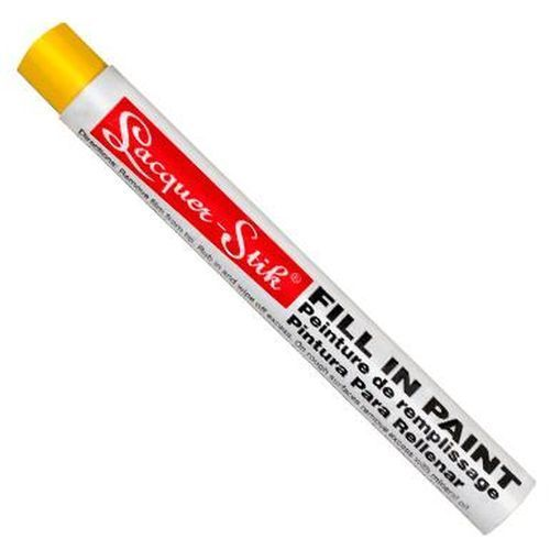 Color stick to fill the engraved lettering
