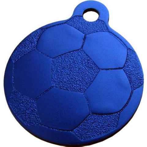Aluminum Football Ball ID Tag (10pcs)
