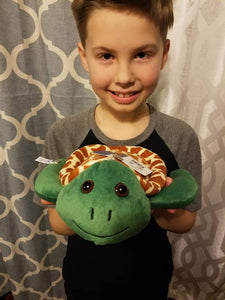 Shore Buddies Ocean Hero Orion Shearer with Shelly the Sea Turtle stuffed animal.jpg