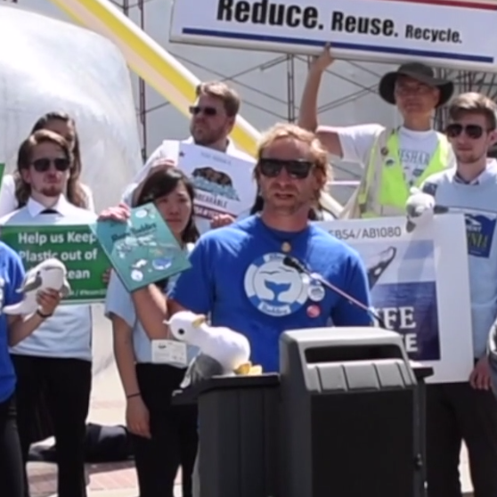 Rallying against single use plastic