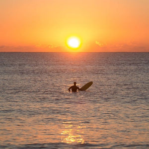 Wisdom Wednesday - surfer at sunset.jpg