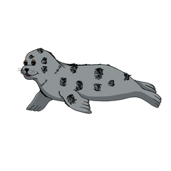 Happy Shore Buddies Sammy the Seal.png