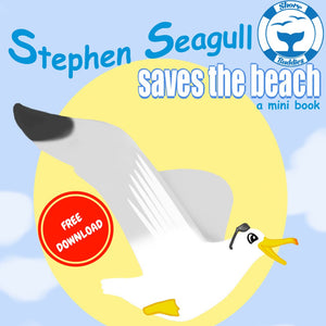 Stephen Seagull saves the beach eBook- free download