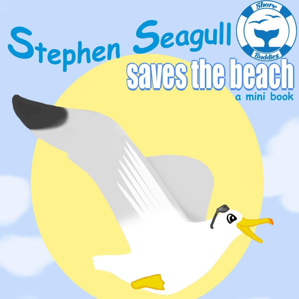 Stephen Seagull saves the beach eBook