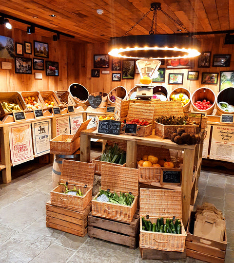 Extra, extra! We are now selling... Organic fruit, vegetables and meat!!
