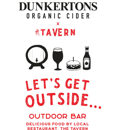 Come and join us for the official opening of our outdoor bar!