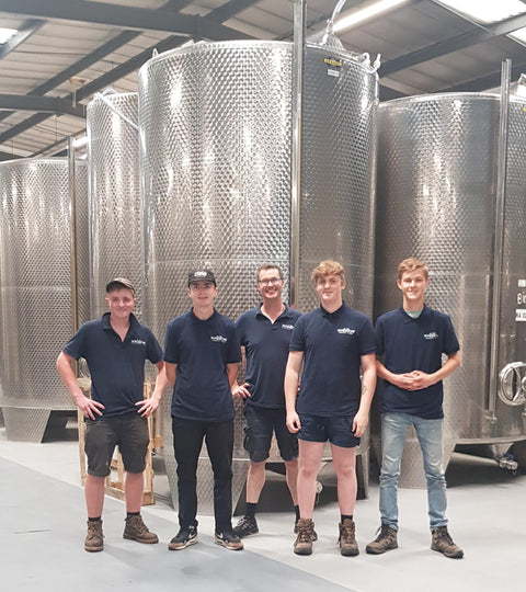 Seb's Work Experience at Dunkertons