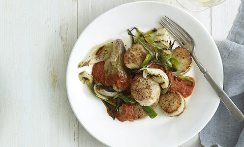 Perfect Pan-Seared Sea Scallops Paired with Dunkertons Dry Organic
