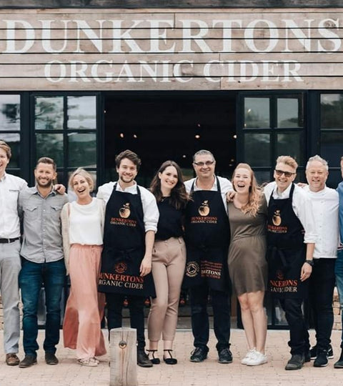 Dunkertons Organic Cider New Labels Launch!