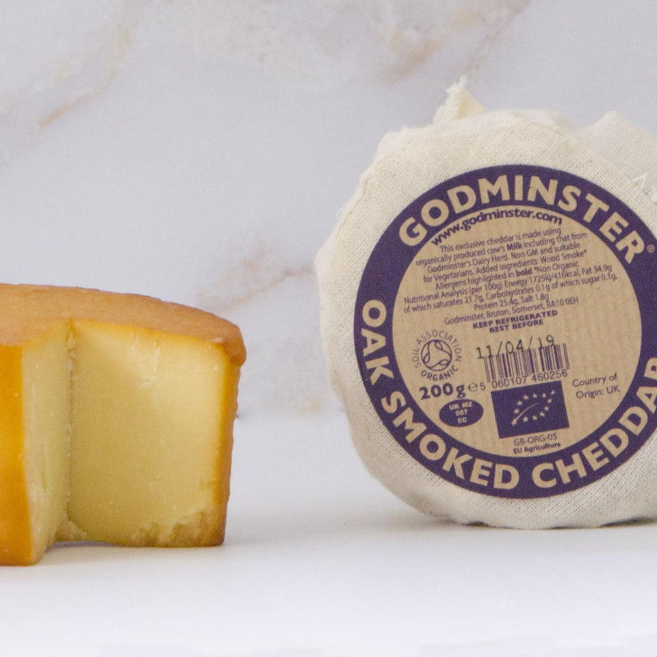 Godminster Smoked Cheddar 200g