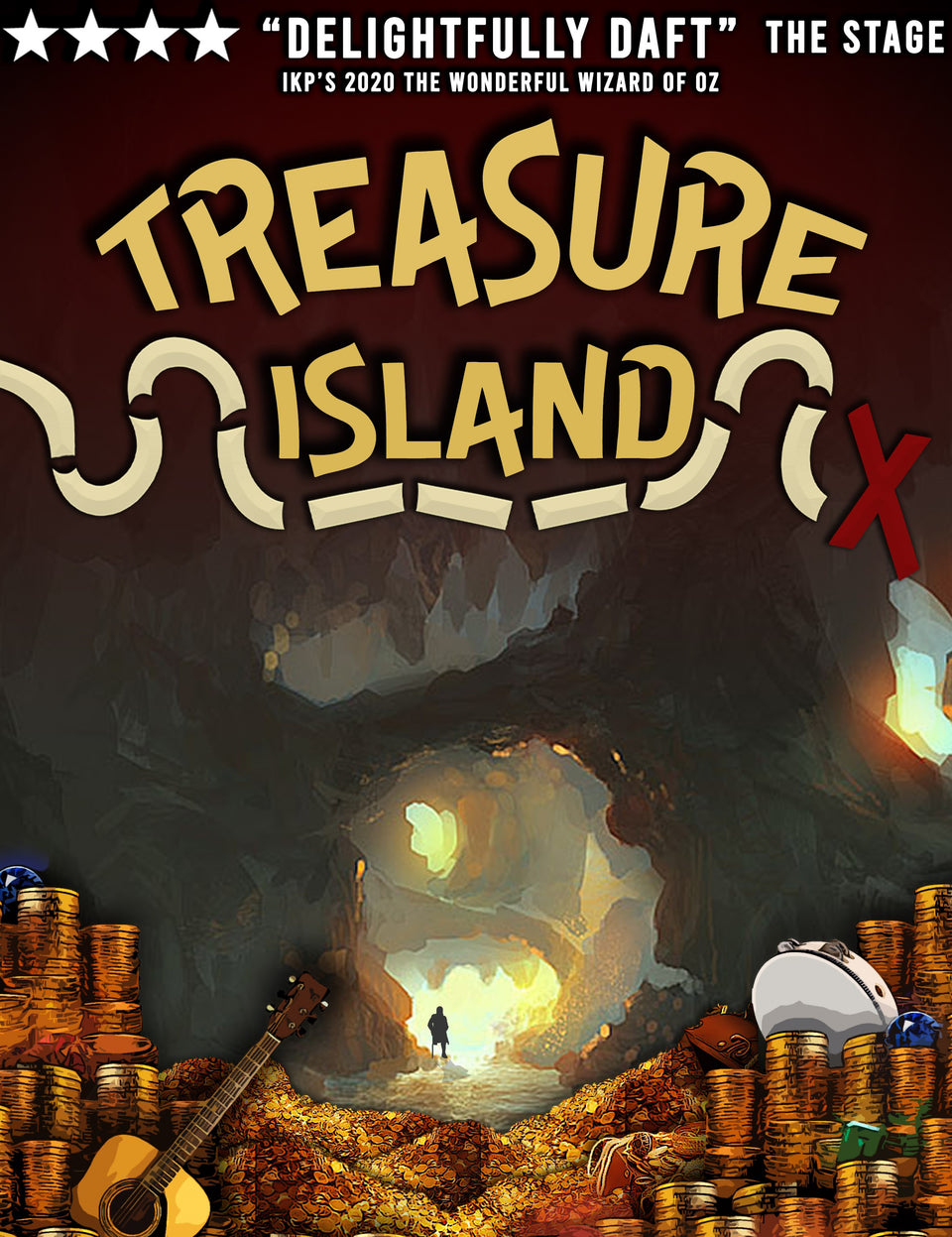 IKP presents Treasure Island in Dunkertons Cider Fields 29th-30th of May. Age 15+ Performance 6pm