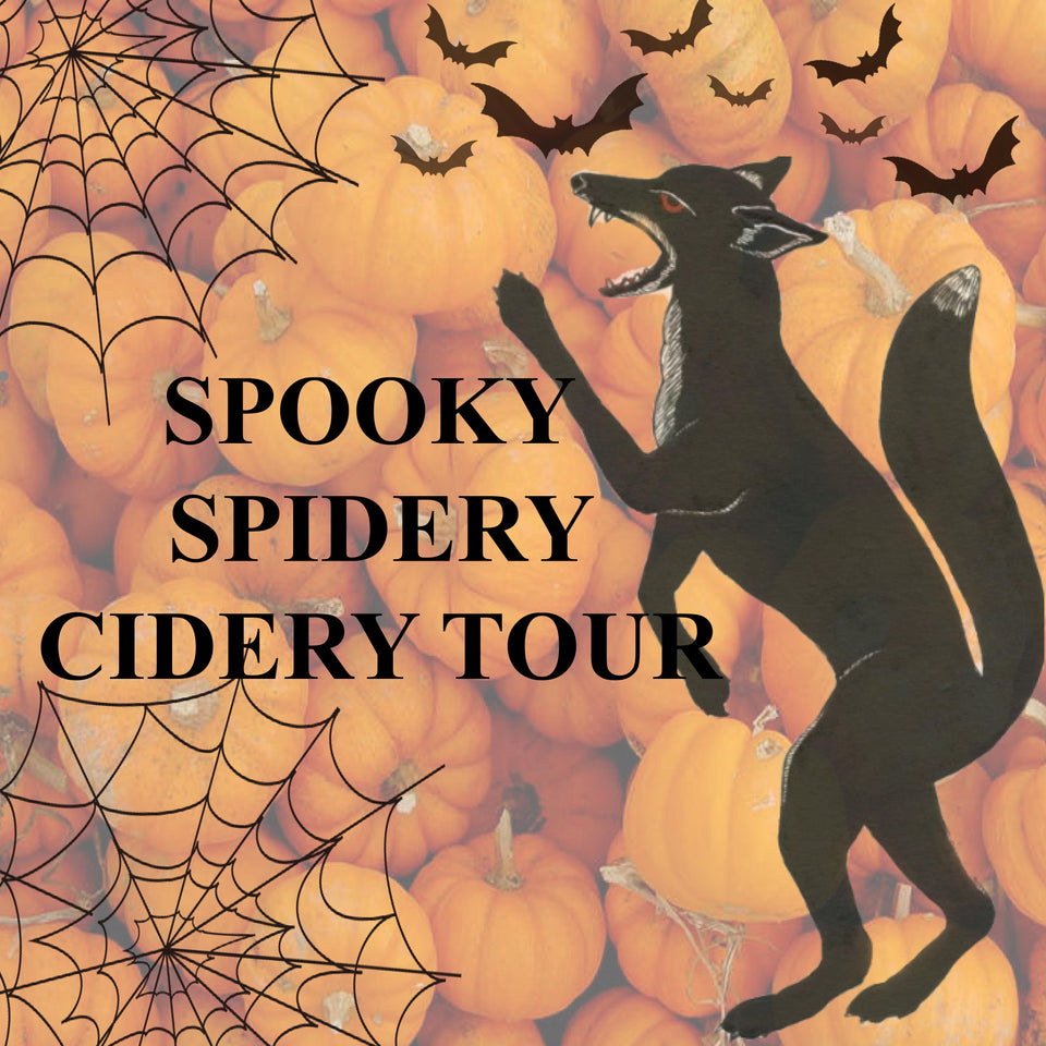 """Spooky"" Spidery Cidery Tour"