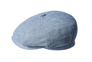 Eight panel newsboy cap.