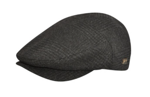 Bailey caps are famous for their superior fit and custom patterns. The Ormond is our signature Contour 5 Panel Cap. It is constructed out of a soft wool blend fabric, fully lined with a Comfort Sweatband.