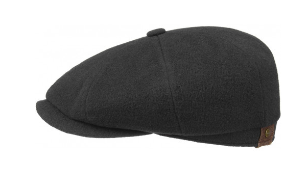 Details  A contemporary classic. This classic black Stetson cap mimics the traditional workers' hats that were worn in the 1920s, but still holds its appeal as a stylish, comfortable cap. This finely crafted cap, finished with a flannel lining, is made from a fabric blend of wool and cashmere for warmth and comfort in cold weather. Additional information  Colour: black Material: 75% wool; 20% polyamide; 5% wool felt (cashmere) Lining: 76% cotton; 24% polyester Visor: 6 cm Contains non-textile parts of anima