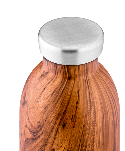 The Wood Collection is designed to achieve the perfect combination of environmental protection and aesthetics: drawing inspiration from the natural beauty of wood, Clima Bottle Sequoia Wood is embellished with an elegant, smooth woodgrain finish adding a natural vibe and some rustic charm to every outfit. Clima Bottle keeps your drinks cold for 24 hours and hot for 12. Sweat-free and perfect size for your comfortable daily hydration.
