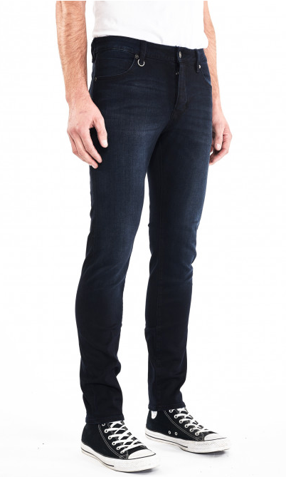 "Iggy Skinny Jean from Neuw is cut to a slim silhouette and draws inspiration from the jeans worn by Legendary pop icon, Iggy Pop, on the cover of his 1977 album ""The Idiot"". Polar is made from Premium high stretch Form Denim that is designed to hold its shape and move with you, just like classic denim should.  This style is shaped with a slim waistline and tapered leg profile and features a five-pocket construction finished silver-tone hardware and subtle fading. Perfect for imbuing rock and roll appeal to"
