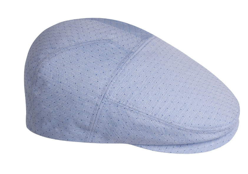 Bailey caps are famous for their superior fit and custom shapes. The Ganey by Bailey of Hollywood is a new contour 5 panel cap. Crafted from Cotton and featuring a dotted jacquard pattern, it is fully lined and features a comfort sweatband.