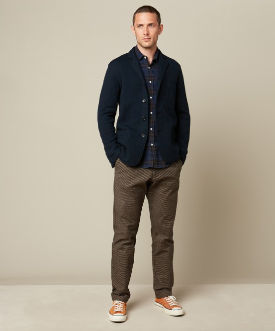 The perfect jacket for the changing seasons - smart like a blazer but soft like a cardigan.