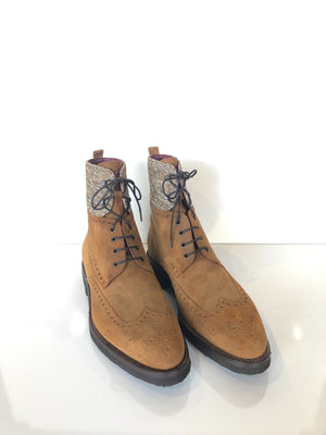 Labrador Cuoio Lace Up Boot Brogue