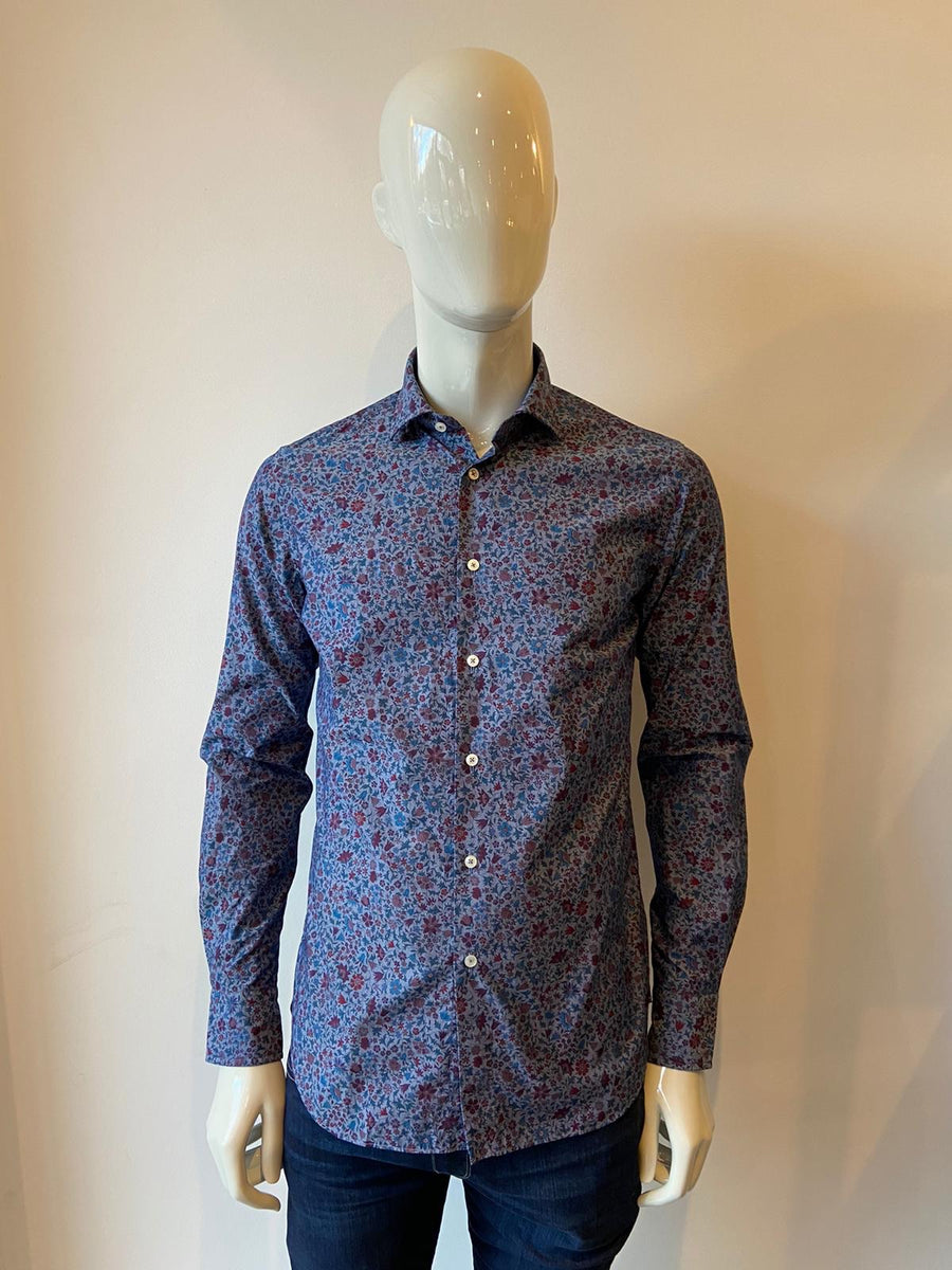 Blue Flower Shirt 51504.001