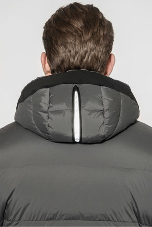 Jump Hooded Coat