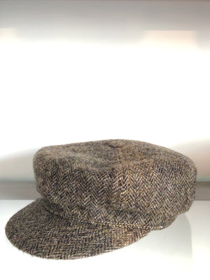 8-Panel Woolrich Herringbone Hat