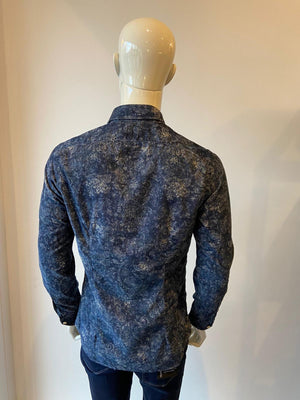 Blue Paisley Shirt 51519.002
