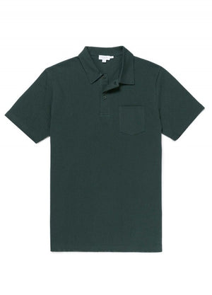 Sunspel's original Riviera Polo Shirt was tailored for Daniel Craig in Casino Royale and has since become synonymous with James Bond style. It is crafted from a breathable cotton mesh fabric and has only the most essential of details for a clean, contemporary aesthetic. A versatile wardrobe staple.