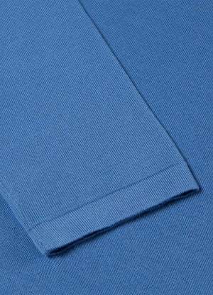 The Sunspel long sleeve polo is a modern classic, made from the rarest cotton in the world. Sea Island cotton is grown in the Caribbean and harvested by hand, with an extremely long staple fibre that gives the yarn strength and smooth, premium softness. The polo has a matte three-button closure and rib detailing on the collar, cuffs and hem. An extraordinarily soft and breathable layer for your seasonal wardrobe.