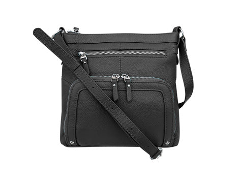 The Traveler Leather Crossbody Bag