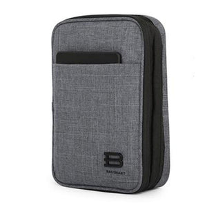 BAGSMART Electronic Travel Accessories Nylon For SD Card USB Cable Kindle iPad Charger Portable Accessories Bag