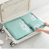 3 Piece- Waterproof Storage Bags for Clothes, Shoes, Accessories Travel, BONUS, Silicone Travel Bottles