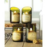Scented Soy Wax  Bottle Candle- Set of 2