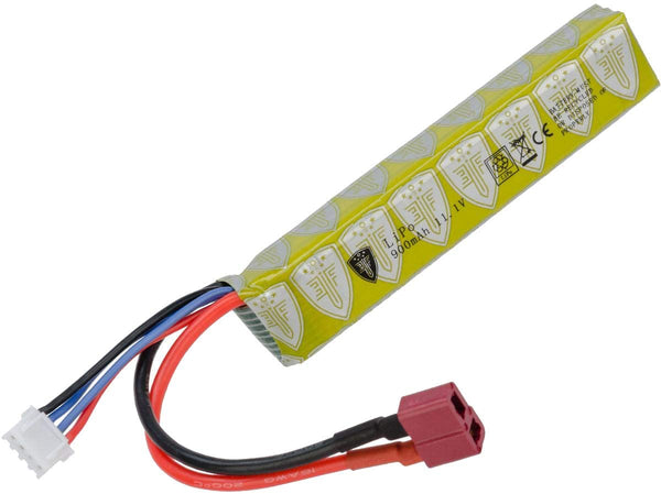 Elite Force Airsoft Battery for 6mm BB Electric Airsoft Guns, 11.1V Lipo 900 mAh, Stick - Deans, One Size (2211151)