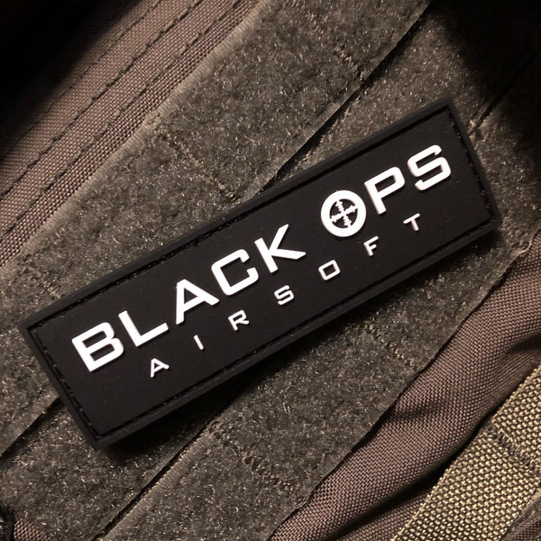 Black Ops Airsoft Patch