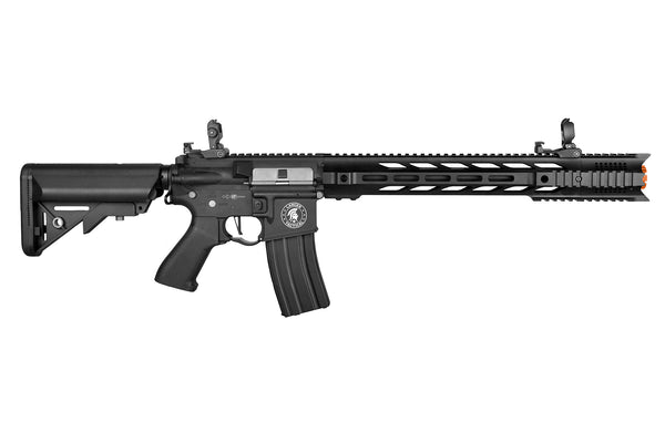 Lancer Tactical Interceptor SPR Airsoft Rifle, Gen 2, Black