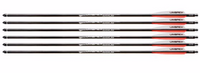 UMAREX AIRSABER AIR ARCHERY AIRGUN ARROWS CARBON FIBER FIELD TIP 6-PACK