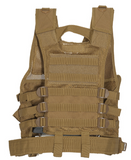 Youth Tactical Crossdraw Vest KHAKI