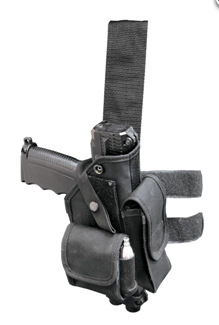 TiPX Black Tactical Leg Holster