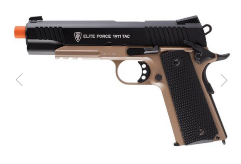 Elite Force 1911 TAC Gun Metal Tan
