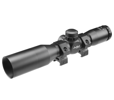 TACTICAL SERIES 4X32 COMPACT SCOPE W/ MIL-DOT RETICLE AND SUNSHADE