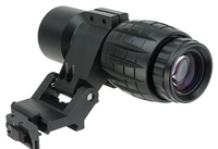 Avengers Tactical 3X Magnifier Scope with QD Flip-to-Side Mount