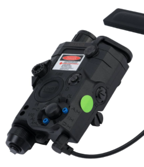 Element Dummy PEQ-15 Illuminator w/ Flashlight, Visible and IR Laser (Color: Black / Green Laser)