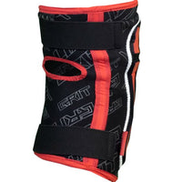 Grit Knee Pads Black Red